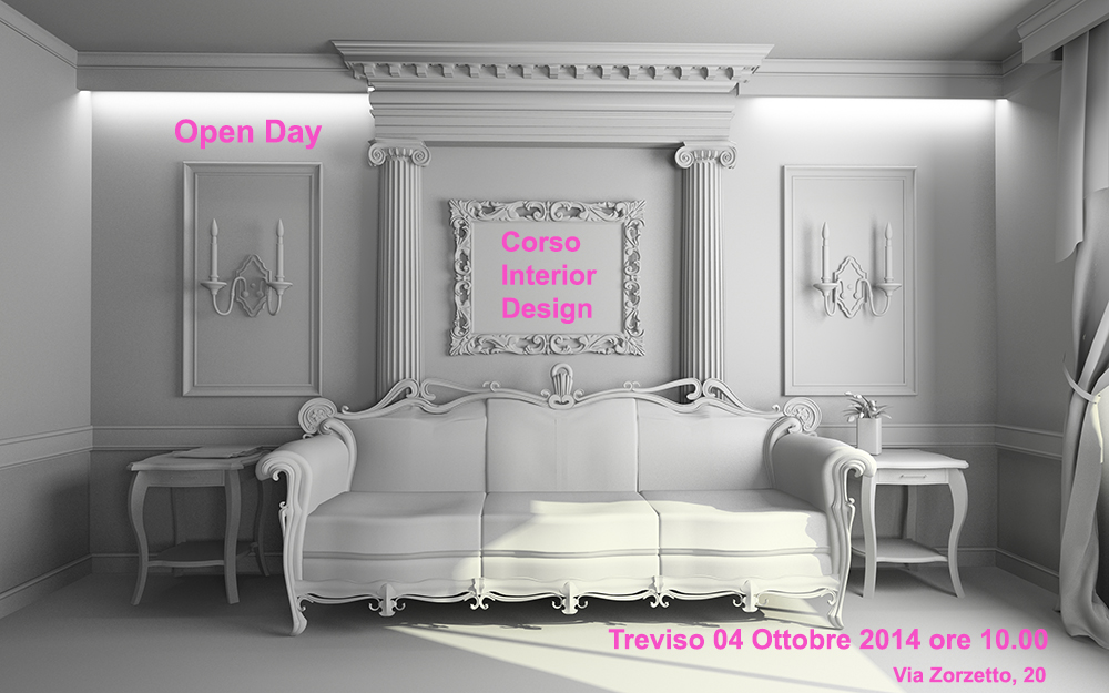 Open day treviso interior design for Diventare interior design